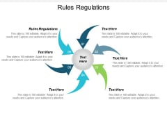 Rules Regulations Ppt PowerPoint Presentation Ideas Design Ideas Cpb