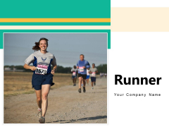 Runner Concrete Road Business Ppt PowerPoint Presentation Complete Deck