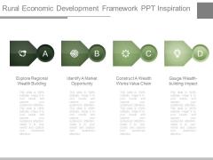 Rural Economic Development Framework Ppt Inspiration