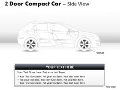 Race Side 2 Door Blue Car Side PowerPoint Slides And Ppt Diagram Templates