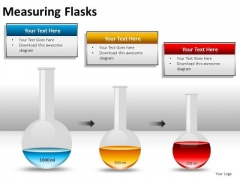 Radiation Measuring Flasks PowerPoint Slides And Ppt Diagram Templates