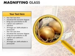 Reading Research Detail Magnifying Glass PowerPoint Slides And Ppt Diagram Templates