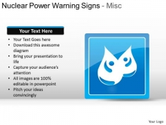 Recycling Nuclear Power Warning Signs Misc PowerPoint Slides And Ppt Diagram Templates