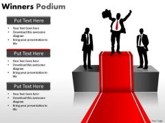 Red Carpet Winner PowerPoint Slides And Ppt Templates