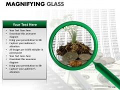 Reflection Research Magnifying Glass PowerPoint Slides And Ppt Diagram Templates