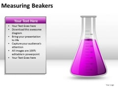 Rendering Measuring Beakers PowerPoint Slides And Ppt Diagram Templates