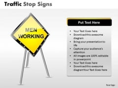 Restricted Area Traffic Stop PowerPoint Slides And Ppt Diagram Templates
