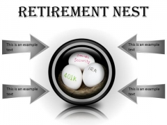Retirement Nest Future PowerPoint Presentation Slides Cc
