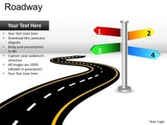 Road Directions PowerPoint Slides And Ppt Diagram Templates