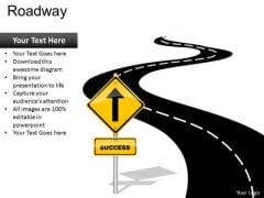 Road To Success PowerPoint Slides And Editable Ppt Templates