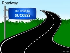 Road To Success PowerPoint Slides And Ppt Diagram Templates