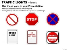 Roadsign Traffic Light PowerPoint Slides And Ppt Diagram Templates