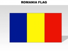 Romania Country PowerPoint Flags