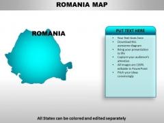 Romania PowerPoint Maps