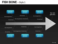 Root Cause Analysis Fish Bone Diagram PowerPoint Slides And Editable Ppt Slides Download