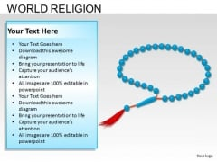 Rosary Beads Christianity PowerPoint Slides And Ppt Diagram Templates