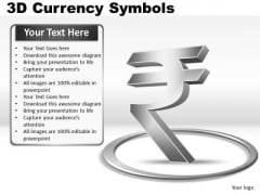 Rupee Currency Symbol PowerPoint Slides And Ppt Diagram Templates