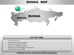 Russia Country PowerPoint Maps