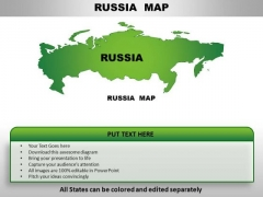 Russia PowerPoint Maps