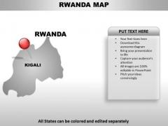 Rwanda Country PowerPoint Maps