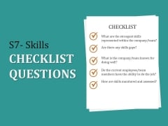S7 Skills Checklist Questions Ppt PowerPoint Presentation Infographics Clipart