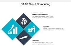 SAAS Cloud Computing Ppt PowerPoint Presentation Visual Aids Model Cpb