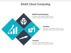 SAAS Cloud Computing Ppt PowerPoint Presentation Visual Aids Model Cpb