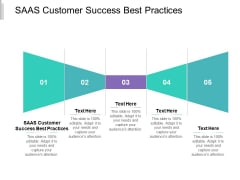 SAAS Customer Success Best Practices Ppt PowerPoint Presentation Outline Deck Cpb