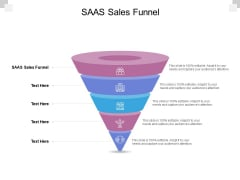 SAAS Sales Funnel Ppt PowerPoint Presentation Icon Graphics Example Cpb