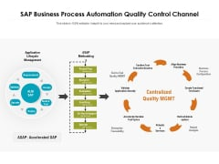 SAP Business Process Automation Quality Control Channel Ppt PowerPoint Presentation File Gallery PDF