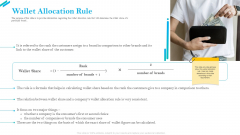 SCR For Market Wallet Allocation Rule Ppt Infographic Template Background Images PDF