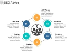 SEO Advice Ppt PowerPoint Presentation Infographics Infographics Cpb