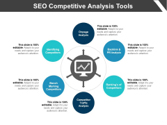 SEO Competitive Analysis Tools Ppt PowerPoint Presentation Icon Files PDF