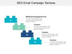 SEO Email Campaign Services Ppt PowerPoint Presentation Summary Rules Cpb