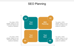 SEO Planning Ppt PowerPoint Presentation Styles Cpb
