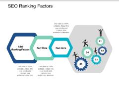 Seo Ranking Factors Ppt Powerpoint Presentation Portfolio Show Cpb