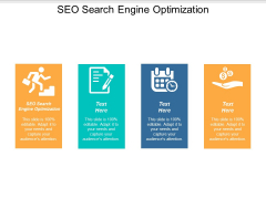 SEO Search Engine Optimization Ppt PowerPoint Presentation Diagrams Cpb