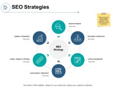 SEO Strategies Content Development Ppt PowerPoint Presentation Professional Brochure