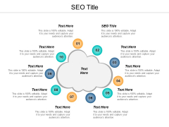 SEO Title Ppt PowerPoint Presentation Infographics Slides Cpb