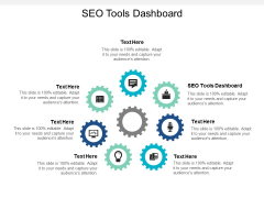 SEO Tools Dashboard Ppt PowerPoint Presentation Professional Graphics Template Cpb