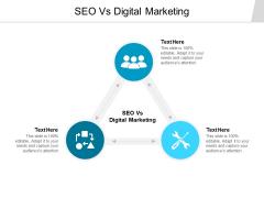 SEO Vs Digital Marketing Ppt PowerPoint Presentation Professional Design Inspiration Cpb