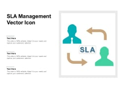 SLA Management Vector Icon Ppt PowerPoint Presentation File Layouts