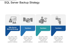 SQL Server Backup Strategy Ppt PowerPoint Presentation Ideas Background Designs Cpb