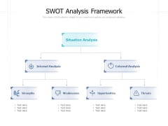 SWOT Analysis Framework Ppt PowerPoint Presentation Model Objects
