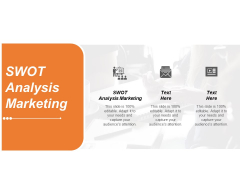 SWOT Analysis Marketing Ppt PowerPoint Presentation Gallery Graphics Tutorials Cpb