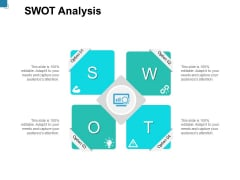 SWOT Analysis Option Ppt PowerPoint Presentation Outline Show