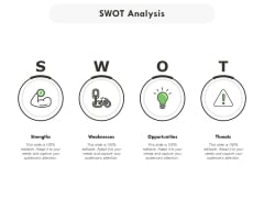 SWOT Analysis Ppt PowerPoint Presentation Outline Maker