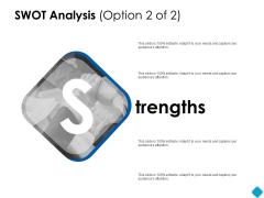 SWOT Analysis Strengths Ppt PowerPoint Presentation Model Graphics Tutorials