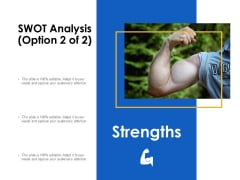 SWOT Analysis Strengths Ppt Powerpoint Presentation Professional Graphics Design