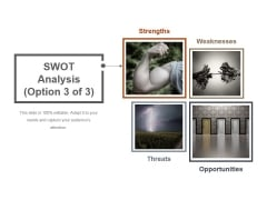 SWOT Analysis Template 3 Ppt PowerPoint Presentation Outline Ideas